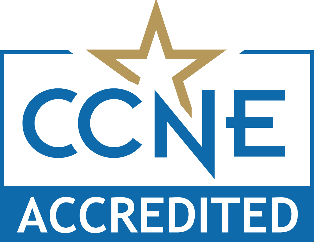 The NP program at Keuka College is accredited by CCNE