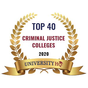 A top 40 criminal justice school