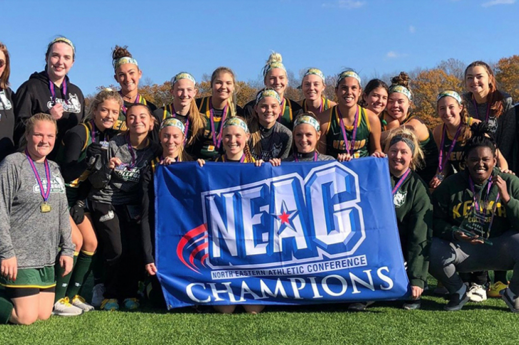 Field Hockey team won its third straight North Eastern Athletic Conference Championship