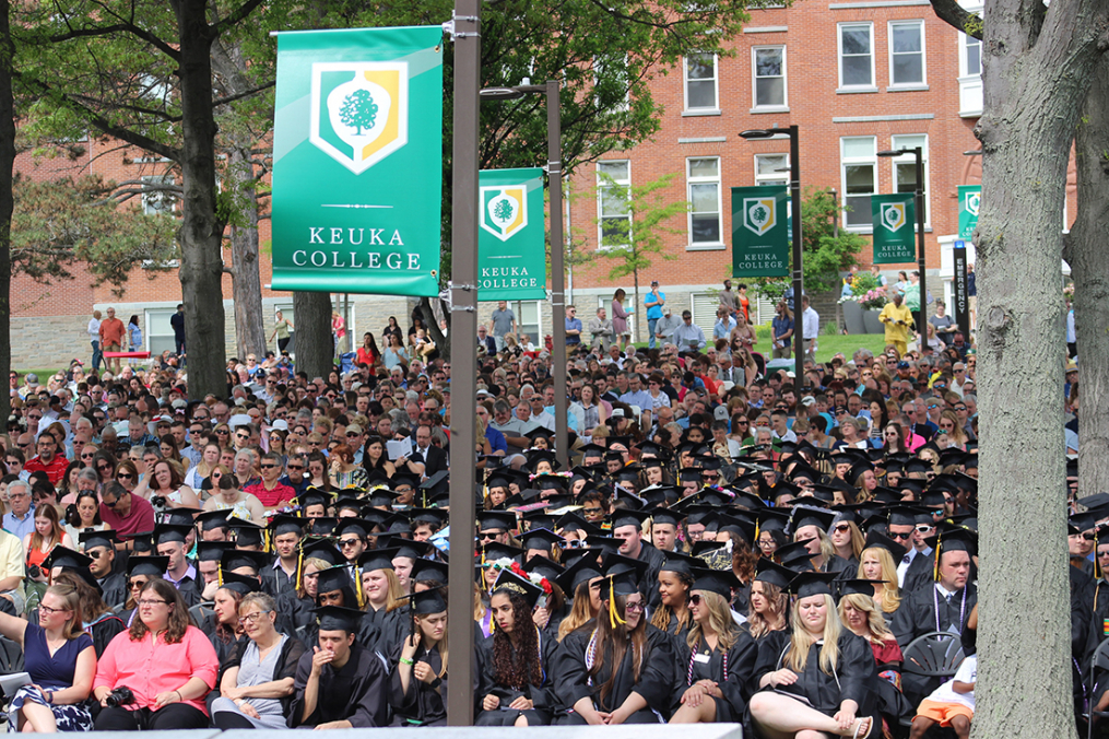 "U.S. News & World Report says Keuka College is among those that are ""more successful than others at advancing social mobility by enrolling and graduating large proportions of students awarded with Pell Grants."""