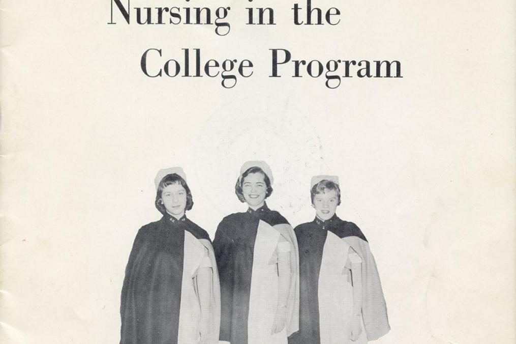 Keuka College's Nursing program cover from 1943